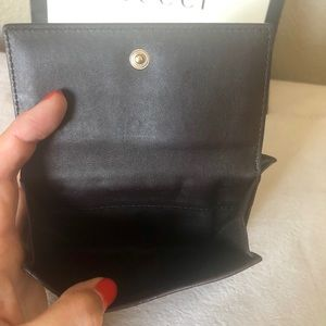 Gucci Bags - GUCCI GG Guccissima Brown Leather Heart Wallet